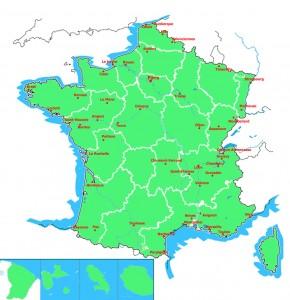francie-mapa